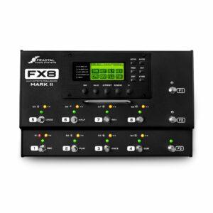 Pedaleira Processador Multi-Efeitos FX-8 Mark II da Fractal Audio Systems