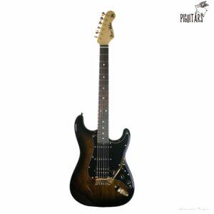 Guitarra Music Maker Stk Coffee Brown Black Burst