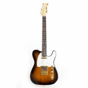 Guitarra Telecaster Sunburst da Music Maker